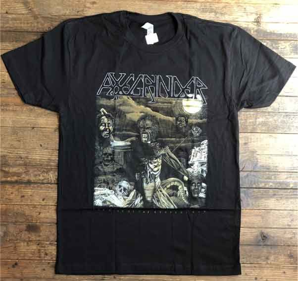 AXEGRINDER Tシャツ The Rise Of The Serpent Men オフィシャル!