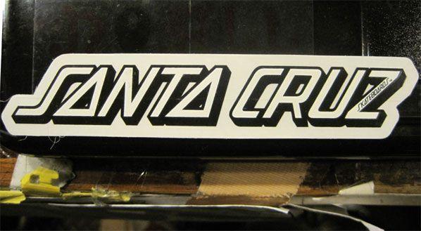 SANTA CRUZ ステッカー ロゴ