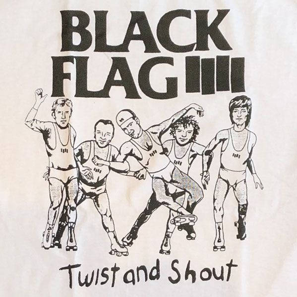 BLACK FLAG Tシャツ TWIST AND SHOUT