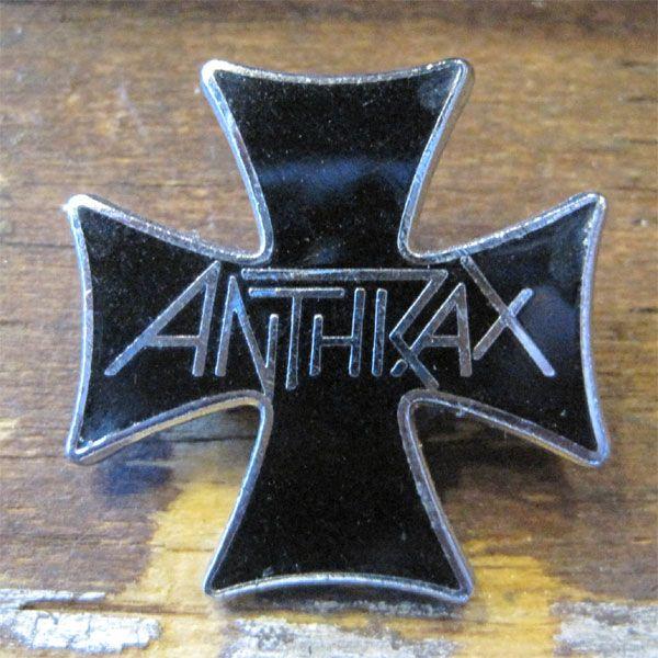 VINTAGE ANTHRAX メタルバッジ
