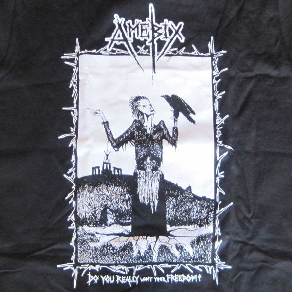 AMEBIX Tシャツ DO YOU REALLY WANT YOUR FREEDOM?