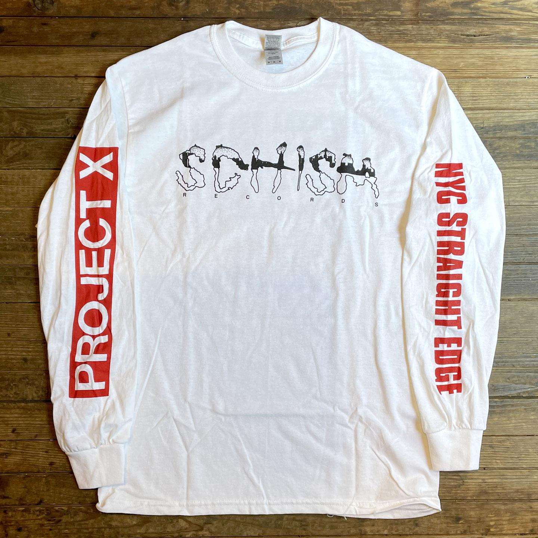 PROJECT X  ロングスリーブTシャツ SCHISMオフィシャル!