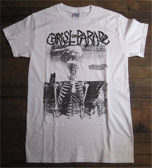 CHRIST ON PARADE Tシャツ BOMBHEAD