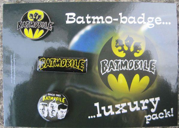 BATMOBILE バッジセット