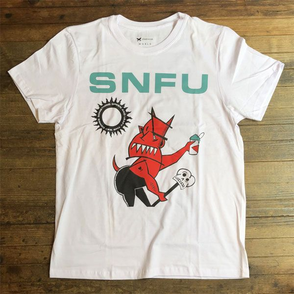 S.N.F.U Tシャツ Something Green and Leafy This Way Comes