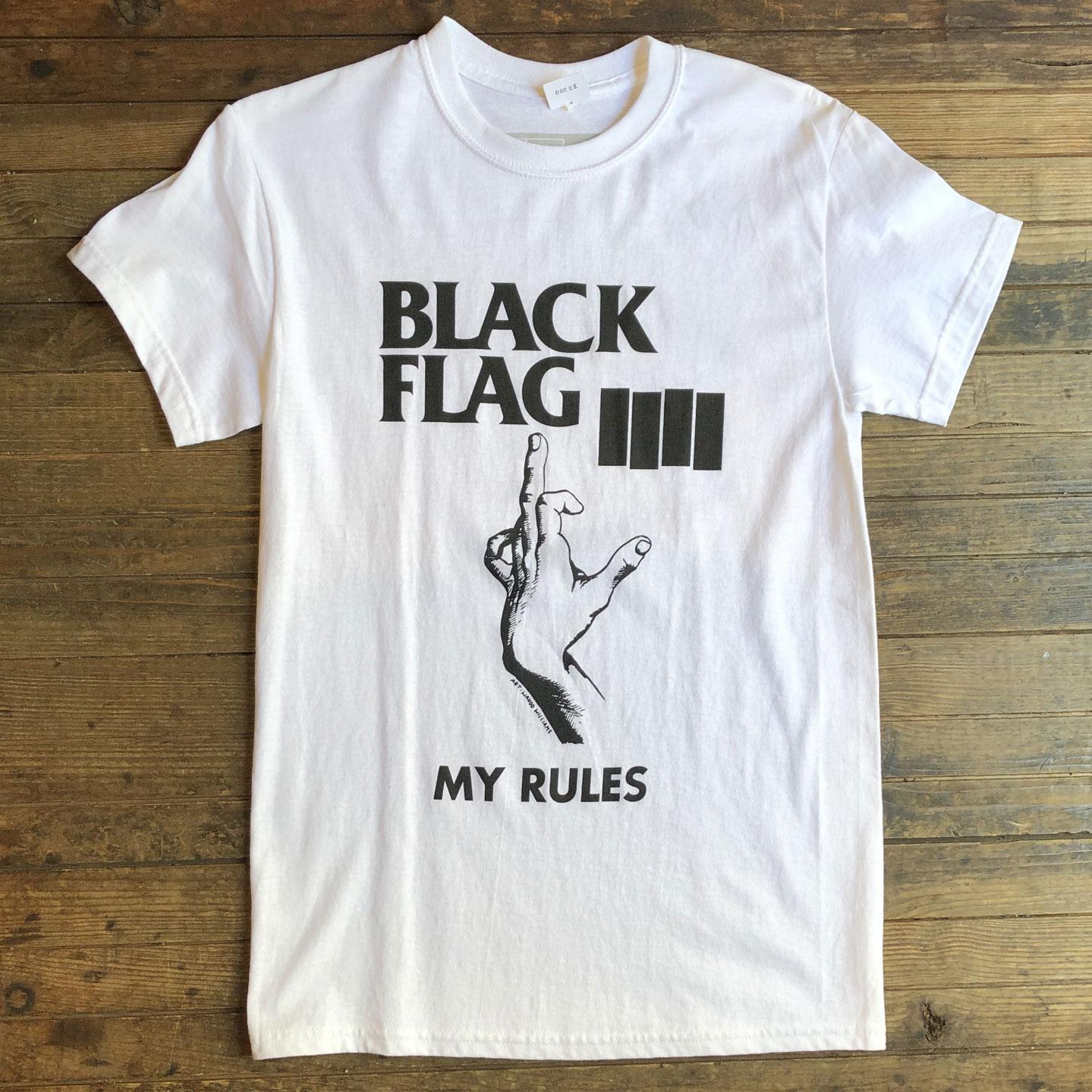 BLACK FLAG Tシャツ MY RULES