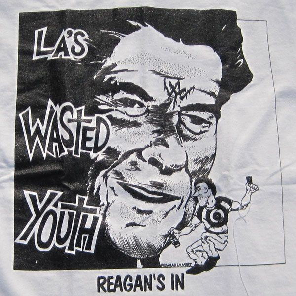 WASTED YOUTH Tシャツ REAGAN'S IN
