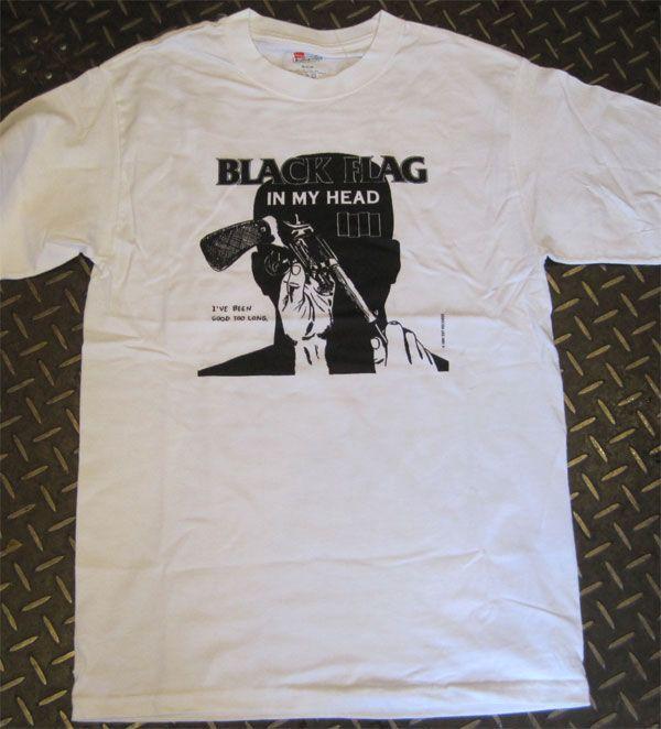 BLACK FLAG Tシャツ IN MY HEAD