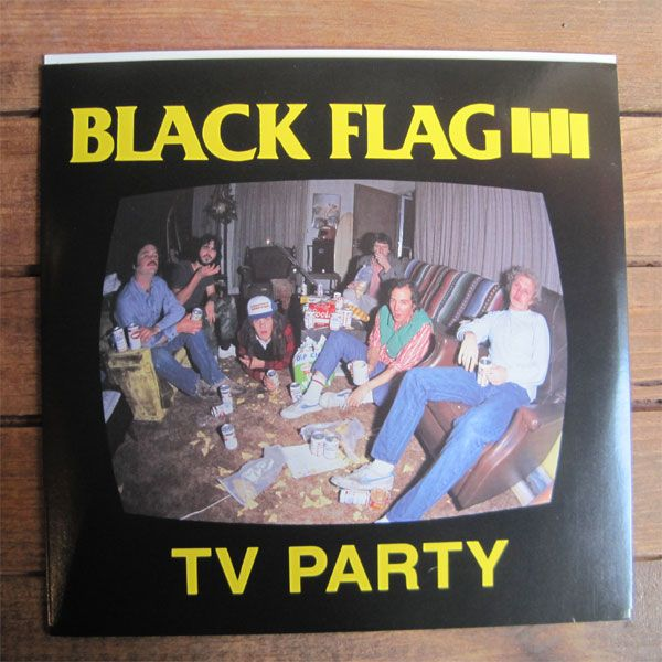 "BLACK FLAG 7""ep TV PARTY"