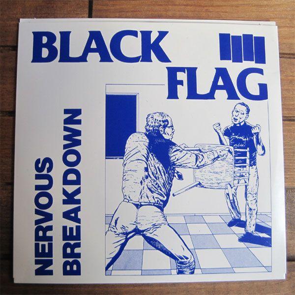 """BLACK FLAG 7""""ep NERVOUS BREAKDOWN"""