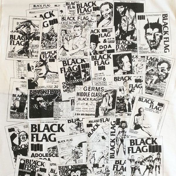 BLACK FLAG Tシャツ FLYERS