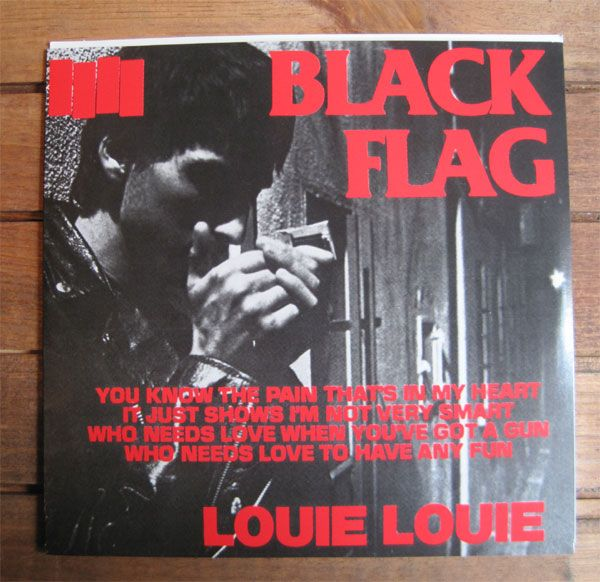"BLACK FLAG 7""ep Louie Louie"
