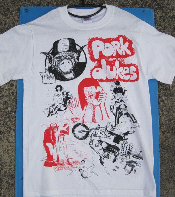 PORK DUKES  Tシャツ