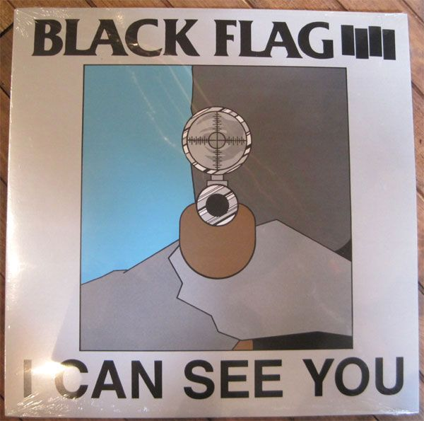 "BLACK FLAG 12""ep I CAN SEE YOU"