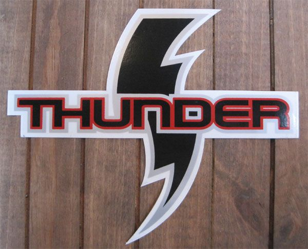 THUNDER ステッカー