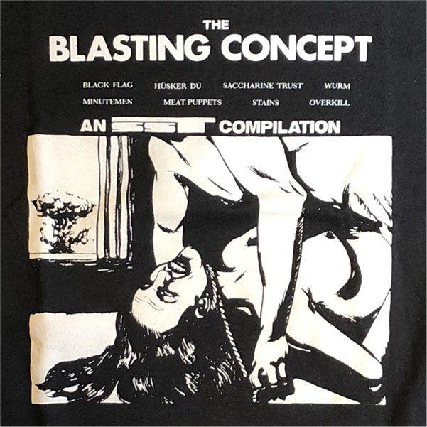 BLASTING CONCEPT Tシャツ
