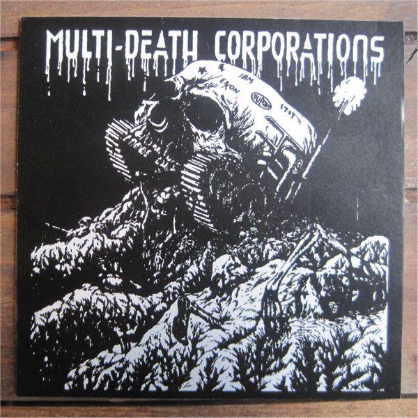 MDC ステッカー MULTI DEATH CORPORATIONS