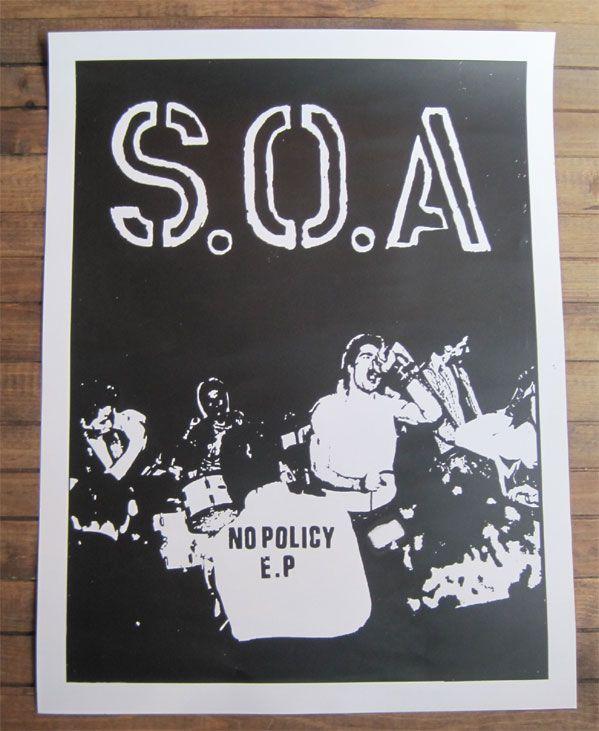 B品 S.O.A ポスター