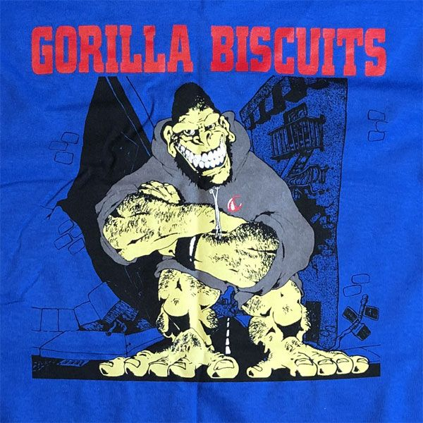 GORILLA BISCUITS ロンT HOLD YOUR GROUND