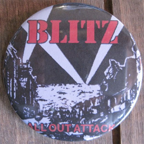 BLITZ デカバッジ ALL OUT ATTACK