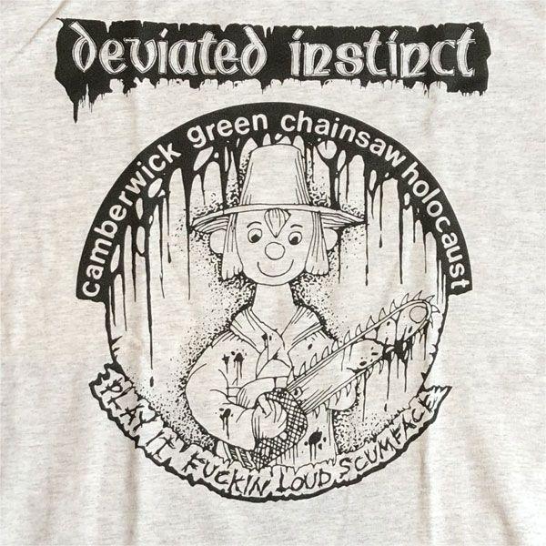 DEVIATED INSTINCT Tシャツ PLAY IT FUCKIN