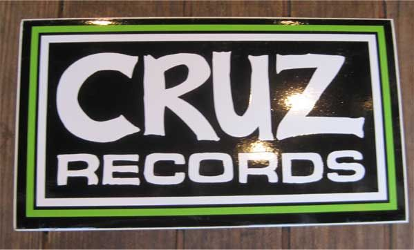 CRUZ RECORDS  ステッカー