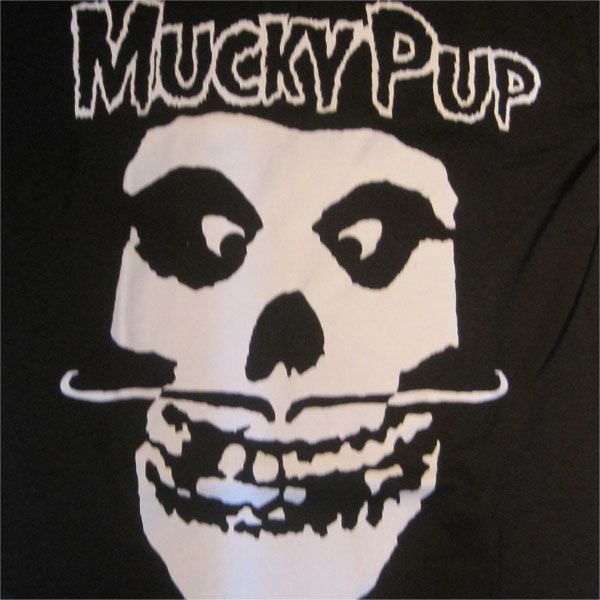 MUCKY PUP Tシャツ MISFITS