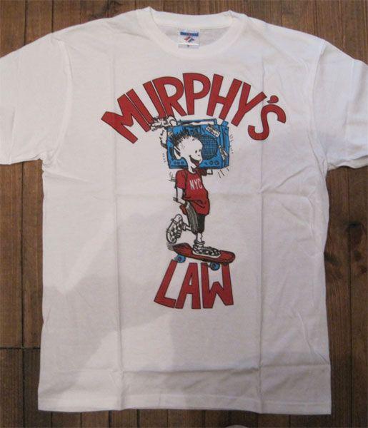 MURPHY'S LAW Tシャツ ラジカセ