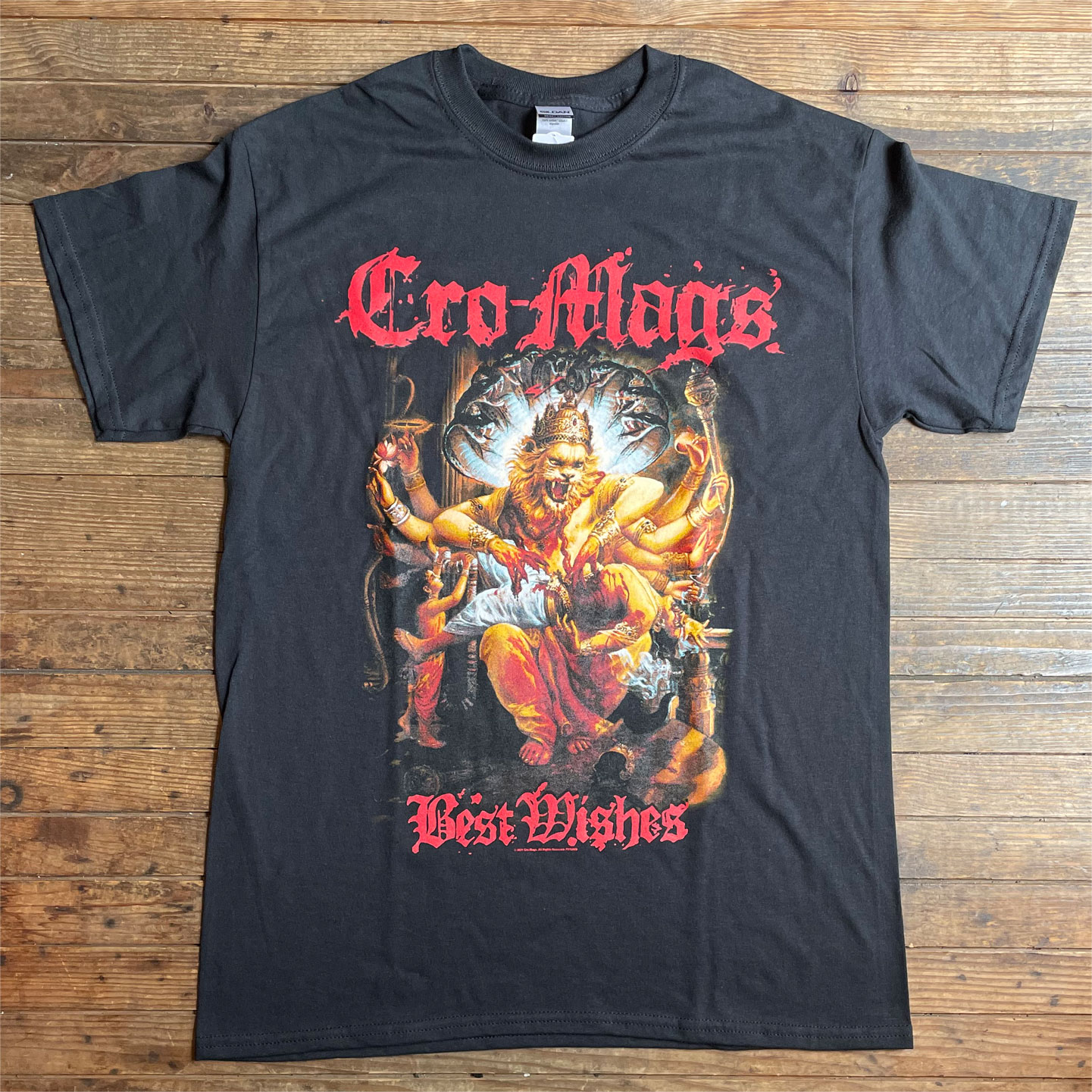 CRO-MAGS Tシャツ BEST WISHES オフィシャル