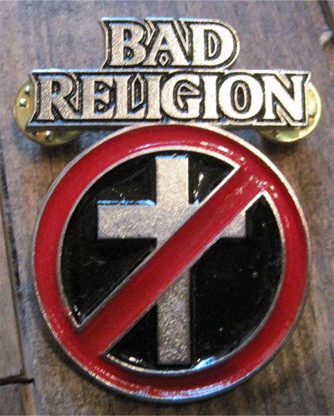 BAD RELIGION ピンバッジ