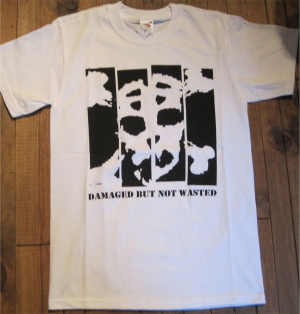 SLAP SHOT Tシャツ DAMAGED BUT NOT WASTED