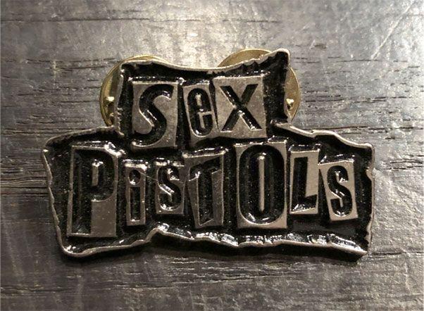 SEX PISTOLS ピンバッジ LOGO