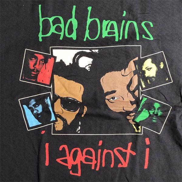 BAD BRAINS Tシャツ I AGAINST I BLACK