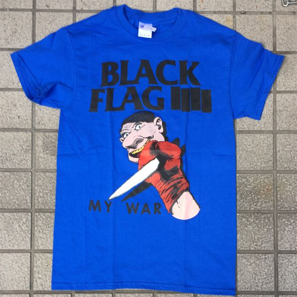 BLACK FLAG Tシャツ MY WAR TOUR