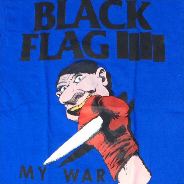 BLACK FLAG Tシャツ MY WAR TOUR