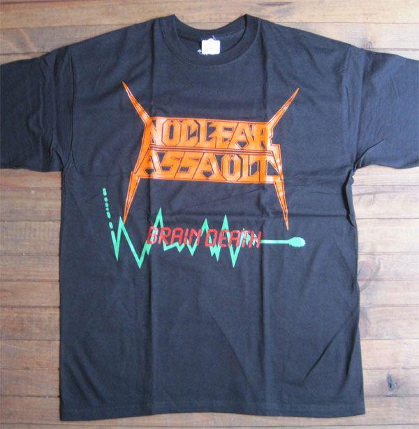 NUCLEAR ASSAULT Tシャツ BRAIN DEATH