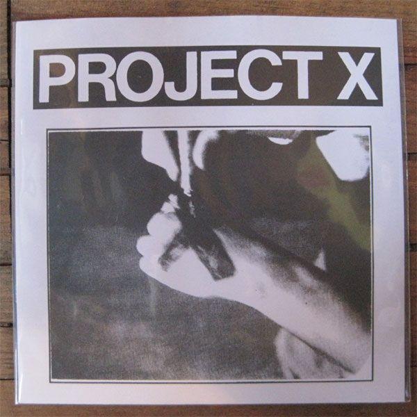 "PROJECT X 7""ep STRAIGHT EDGE REVENGE"