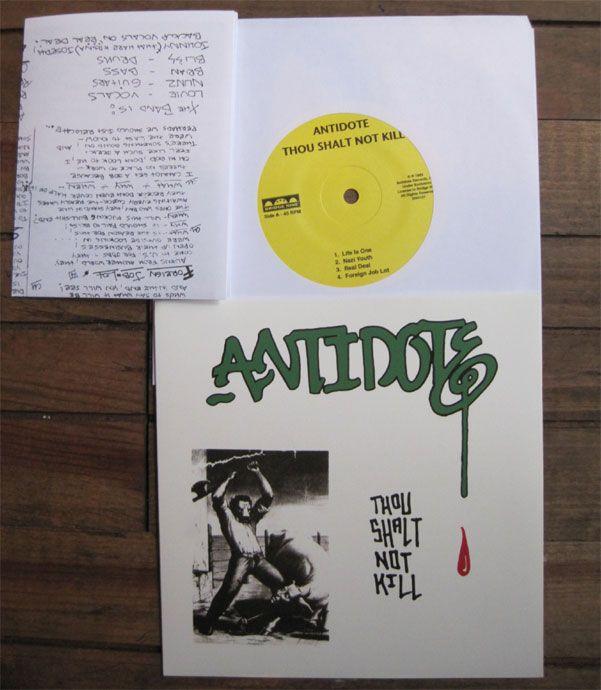 "ANTIDOTE 7""ep THOU SHALT NOT KILL"
