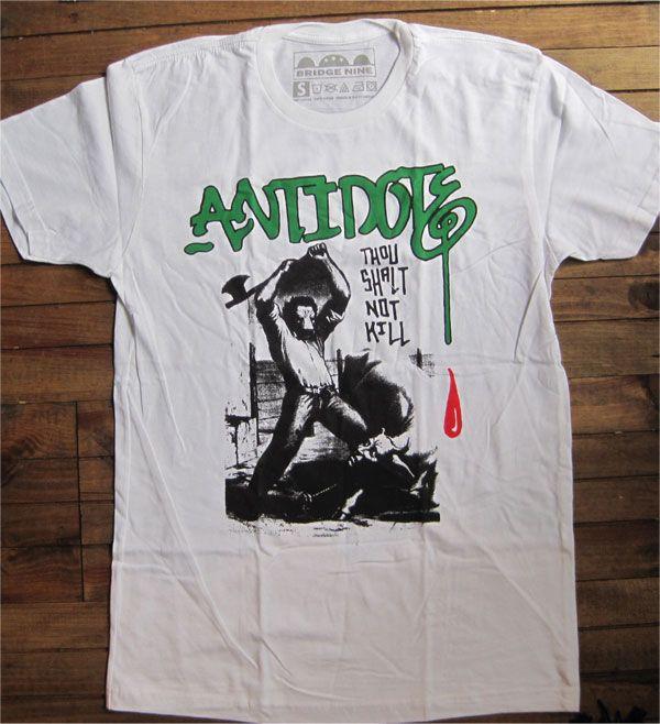 ANTIDOTE Tシャツ THOU SHALT NOT KILL