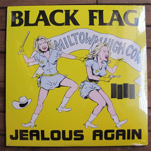 "BLACK FLAG 10"" ep JEALOUS AGAIN"