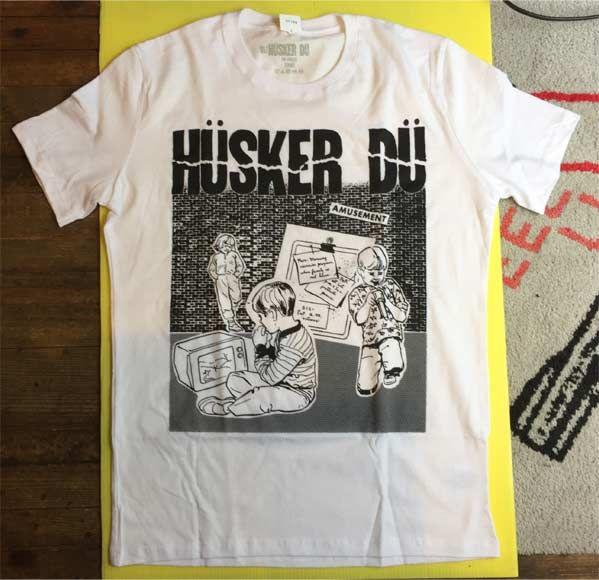 HUSKER DU Tシャツ STATUES OFFICIAL!!