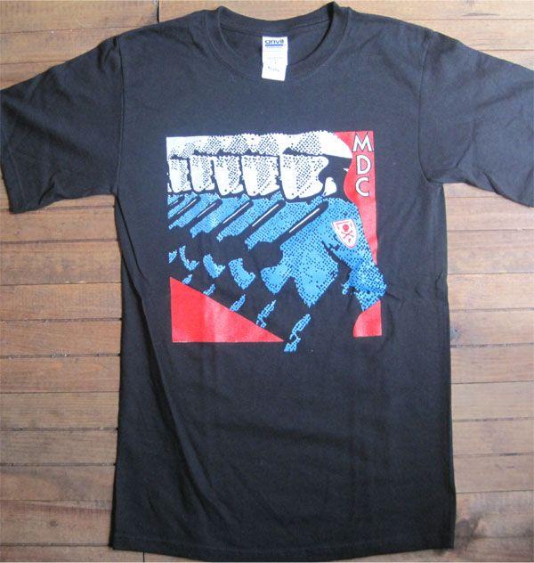MDC Tシャツ MILLIONS OF DEAD COPS
