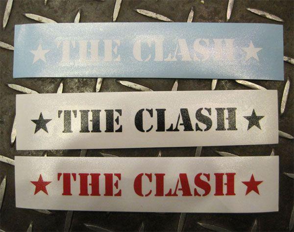 THE CLASH ウィンドーステッカー 1