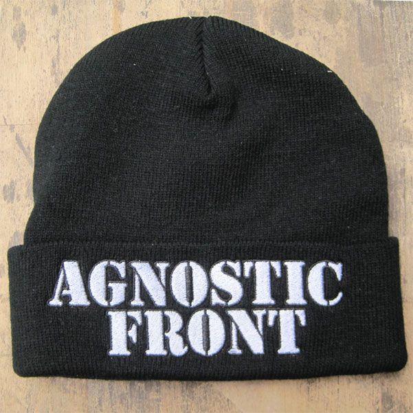 AGNOSTIC FRONT ニット帽