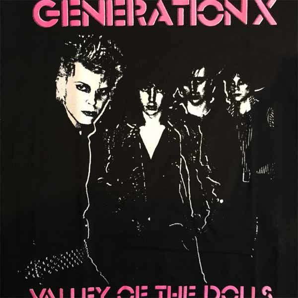 GENERATION X Tシャツ VALLEY OF THE DOLLS