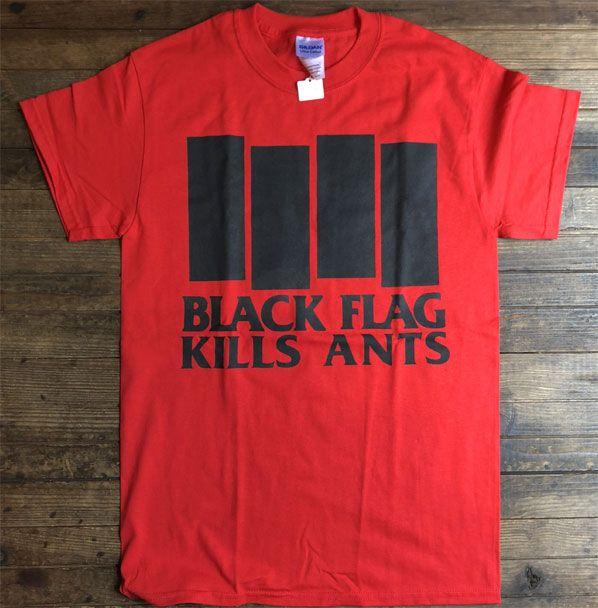 BLACK FLAG Tシャツ KILLS ANTS