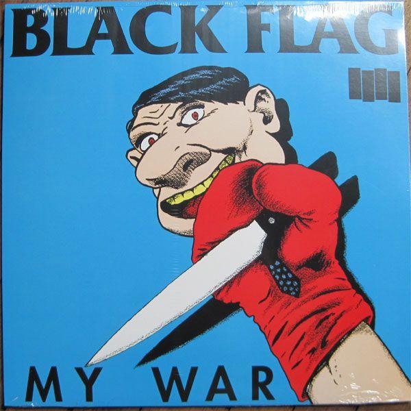 "BLACK FLAG 12"" LP MY WAR"