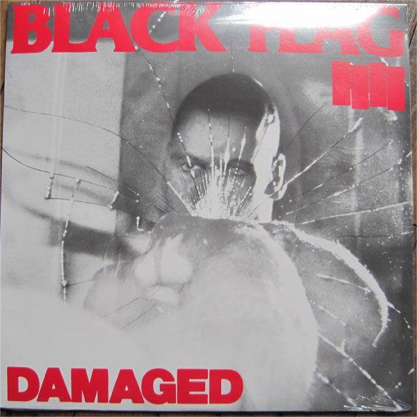 """BLACK FLAG 12"""" LP DAMAGED"""