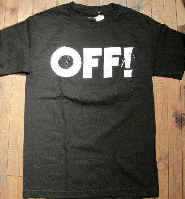 OFF! Tシャツ LOGO