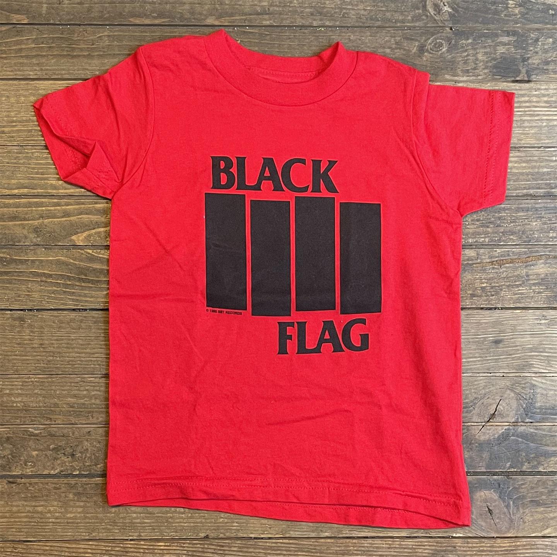 BLACK FLAG キッズTシャツ BARS&LOGOS
